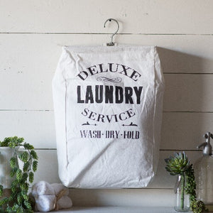 Laundry Service Canvas Bag