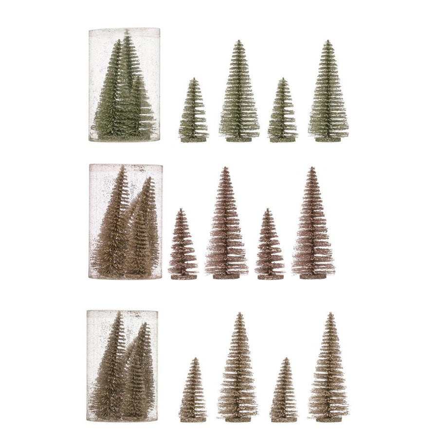 Bottle Brush Trees - Colored Box Sets