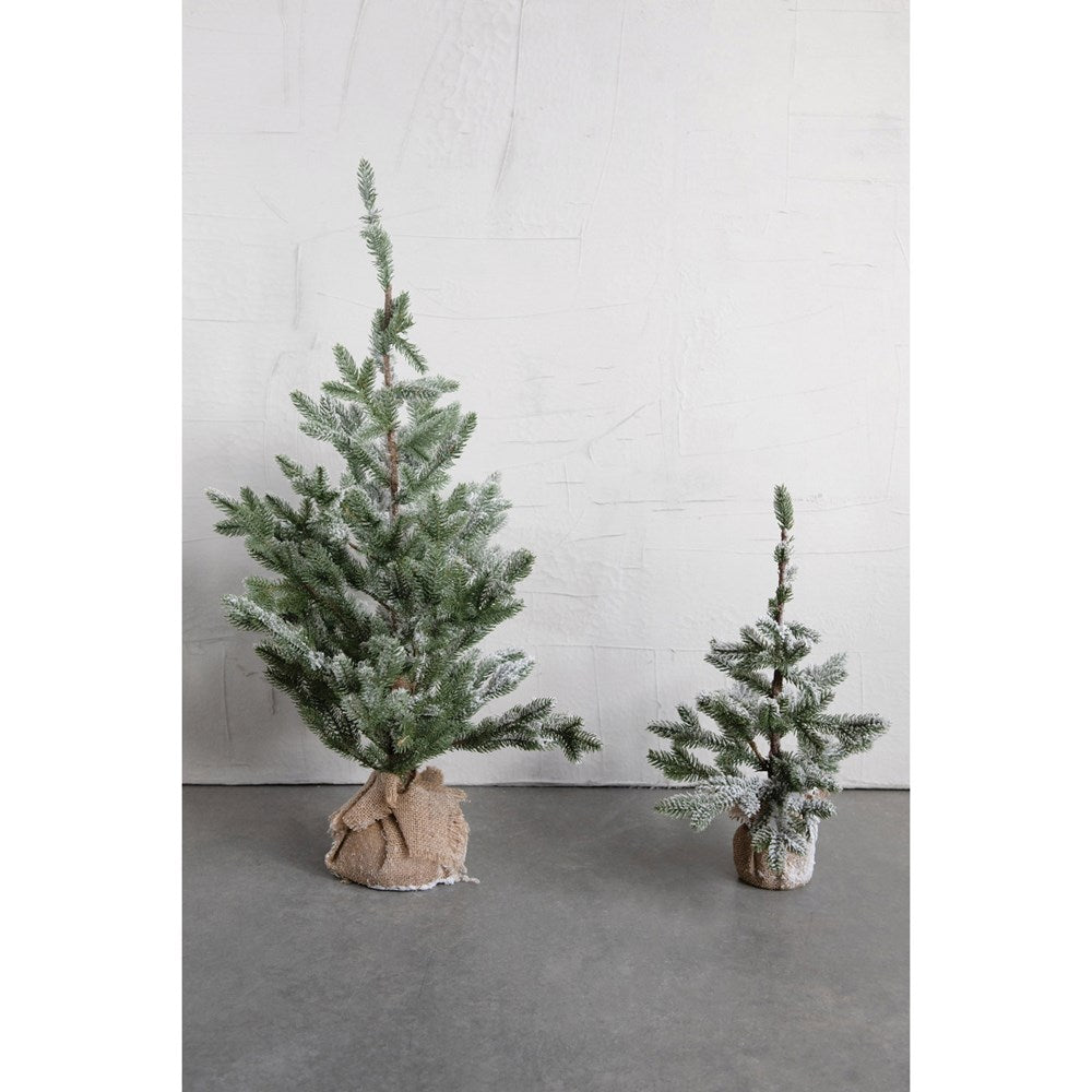 Faux Pine Tree - Burlap Base