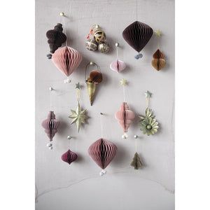 Sugar Plum Paper Ornament