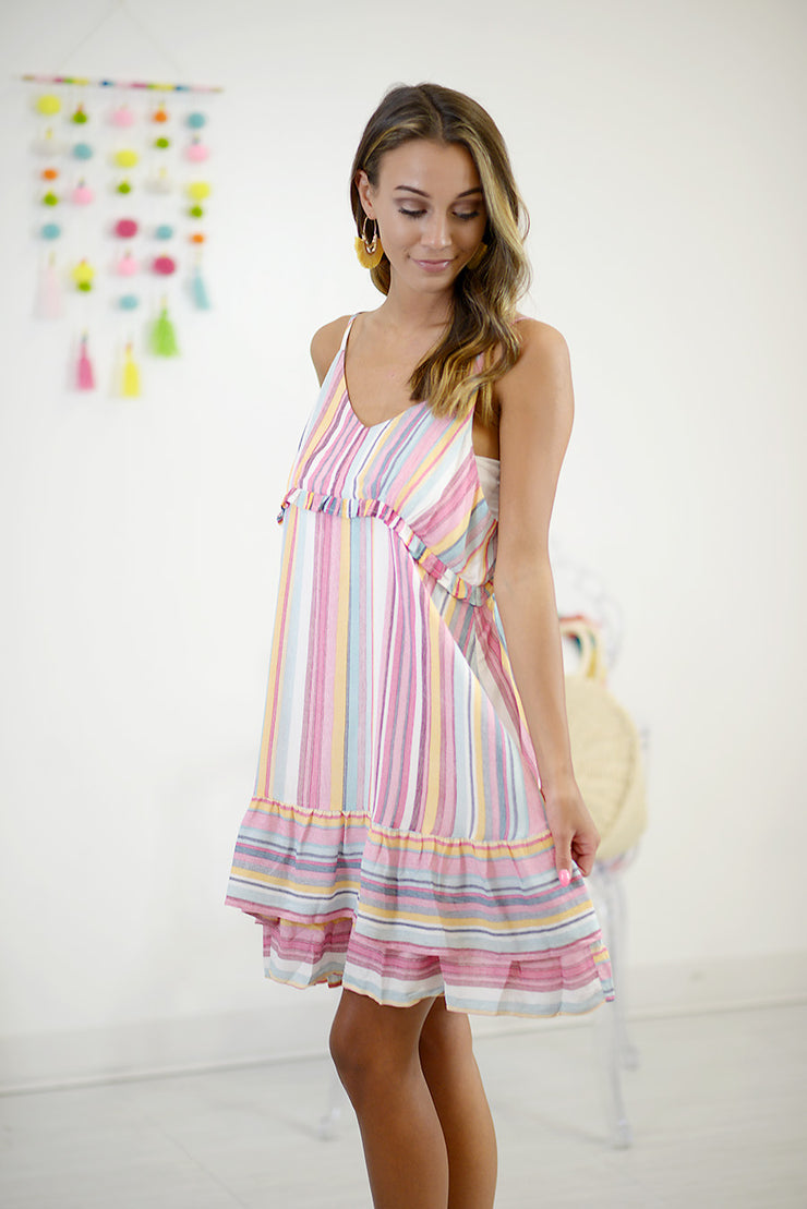 Happiness Comes In Waves Dress