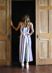 Stripes On Stripes Jumpsuit