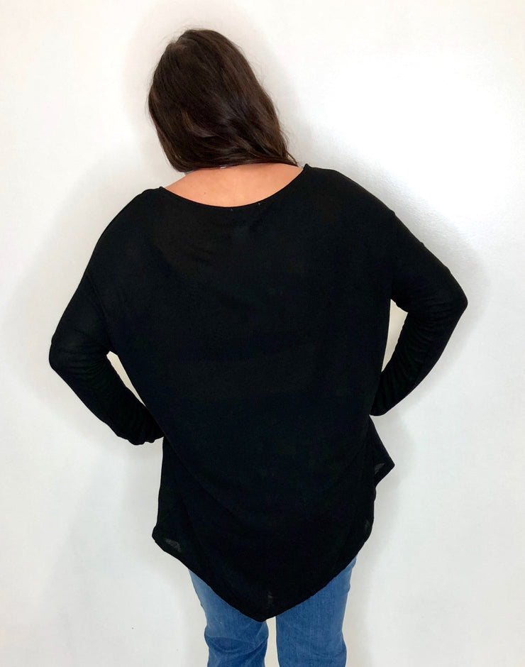 Back To Basic Top in Black