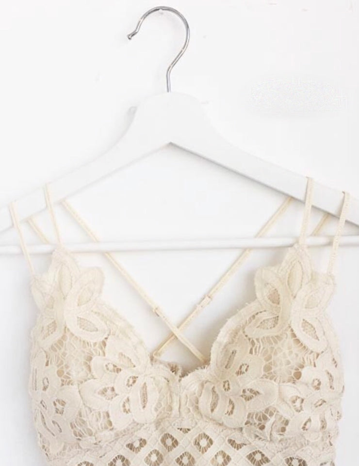 Boho Bralette In Cream