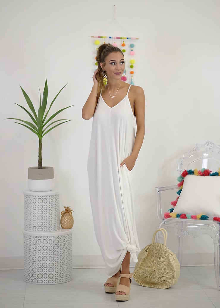 The Lennon Maxi In Ivory