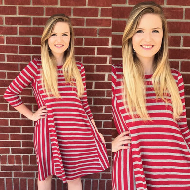 Game On Striped Dress