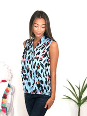 Wild Thing Top In Light Blue
