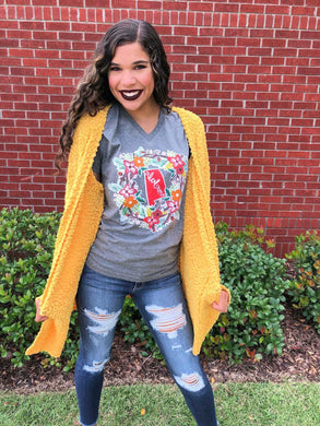 Alabama Fall Wreath Tee