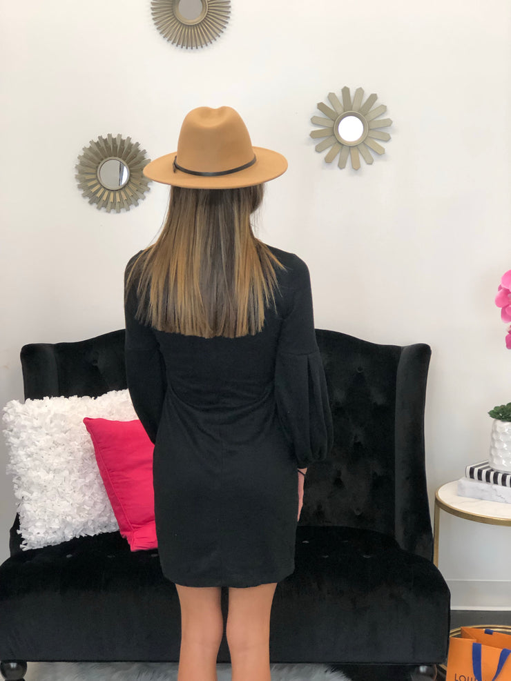 By Your Side Dress In Black