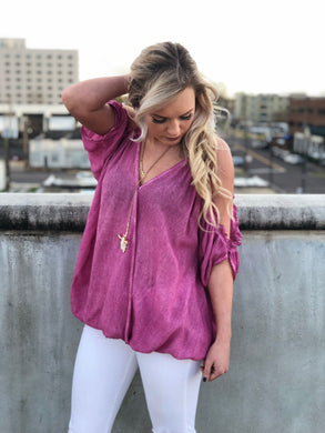 Elisabeth Tassel And Ruffle Top