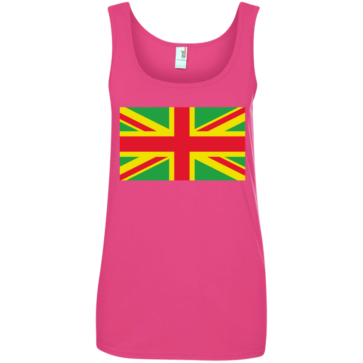 ... Union Jack With Rasta Flag Colors ...