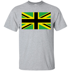 Union Jack With Jamaica Flag Colors