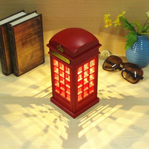Uk red telephone booth novelty table lamp or centerpiece welcome uk red telephone booth novelty table lamp or centerpiece mozeypictures Images