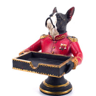 Boston Terrier Classy Server Ornament Figurine Decoration