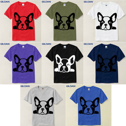 French Bulldog Thick Outline Head Men's T-Shirt