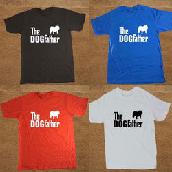 The DOGfather Silhouette Bulldog T-Shirt