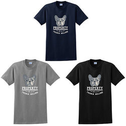 Property of a French Bulldog Men's T-Shirt
