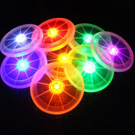 Night Luminous Light Flying Disc Dog Frisbee