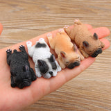 Cute Sleeping French Bulldog 3D Fridge Magnet