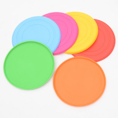 Rubber Dog Frisbee Flying Disc