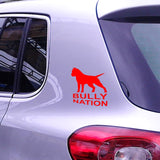 Bully Nation Pit Bull Silhouette Sticker