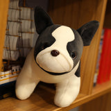 Cute Boston Terrier Stuffed Animal Doll Plush Toy