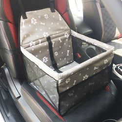 Paw Bone Dog Car Booster Seat