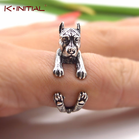 Pit Bull Body Wrap Crop Ear Ring