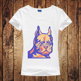 Cute French Bulldogs Puppies Funny Women's T-Shirt