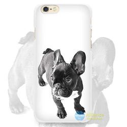 Side View English Bulldog Water Phone Case for iPhone
