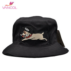 English Bulldog Cartoon Bucket Hat