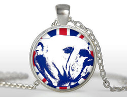 Britain English Bulldog Pendant Necklace