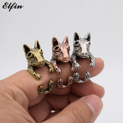 Bull Terrier Body Wrap Ring