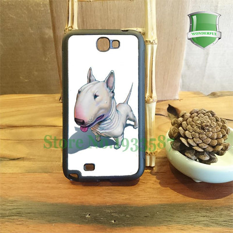 Bull Terrier Realistic 3D Painting Phone Case for Samsung Galaxy