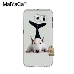 Bull Terrier Mermaid Phone Case for Galaxy
