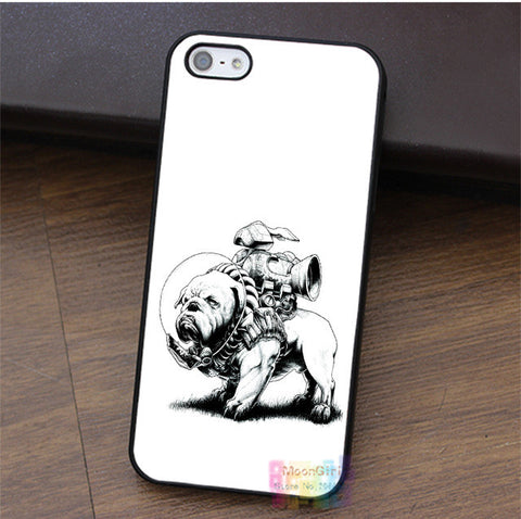 Tough English Bulldog Jet Pack Phone Case for iPhone