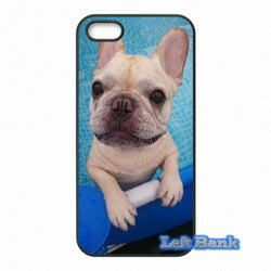 Light Tan French Bulldog Pool Phone Case for Motorola Moto