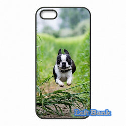 French Bulldog Jumping Over Leaves Phone Case for Motorola Moto