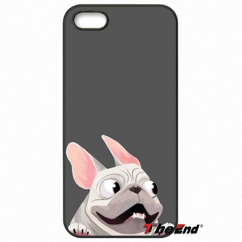 French Bulldog Cartoon Wind Blowing Phone Case for LG