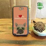 I Love My French Bulldog Tan Background Phone Case for Galaxy