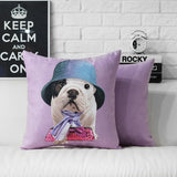 English Bulldog Puppy Bucket Hat Scarf Purse Pillowcase