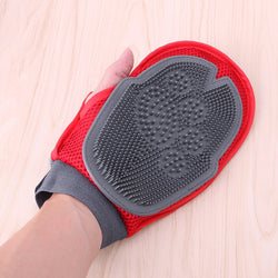 Dog Hair Comb Cleaning Brush Hair Removal Plastic Glove