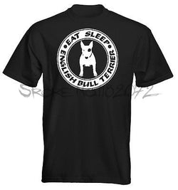 Eat Sleep English Bull Terrier Men's T-Shirt