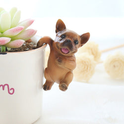 Happy Dancing French Bull Figurine Decoration