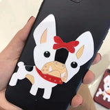 French Bulldog Cartoon Pop Out Phone Case for iPhone