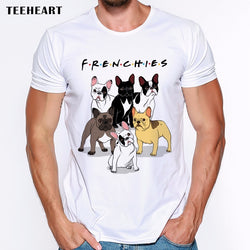 Frenchies Friends TV Show Men's T-Shirt