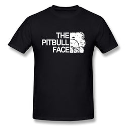 The Pitbull Face Men's T-Shirt