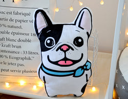 French Bulldog Plush Soft Toy Throw Pillow