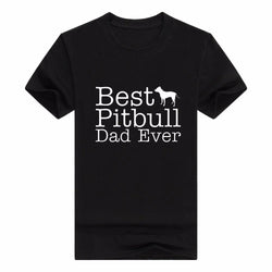 Best Pitbull Dad Ever Men's T-Shirt