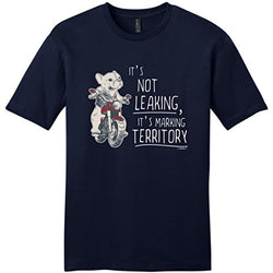 It's Not Leaking, It's Making Territory French Bulldog Men's T-Shirt